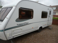 Lovelly Abbey Freestyle 6 berth with garage 2005
