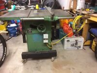 Wadkin table saw