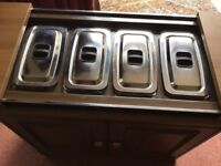 Philips heated hostess trolley - full working order - £40