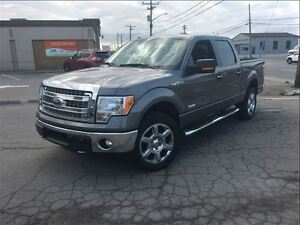 2014 Ford F-150 XLT 4WD CREW 20 CHROME SUPER CLEAN TRUCK!! TOW H