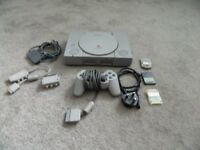Playstation1 console
