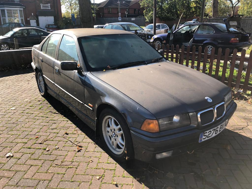 Bmw e36 323i Saloon Manual Grey