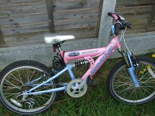 GIRLS FULL SUSPENSION MOUNTAIN BIKE