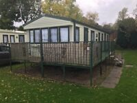 Cheap 3 bedroom static caravan for sale with no site fees to pay till 2019