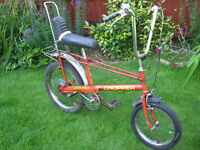 1972 RALEIGH CHOPPER ONE OF MANY QUALITY BICYCLES FOR SALE