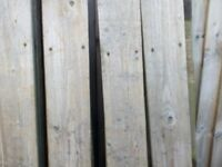 Used gravel boards x16