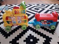 Toddler Alphabet Train
