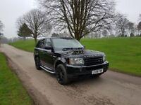 Land Rover Range Rover Sport 3.6 Tdv8 Hse 2008/58 Fully loaded £8250!!!!