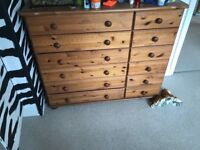 Children's wooden dresser