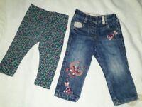 Baby girl clothes, bundle 9-12