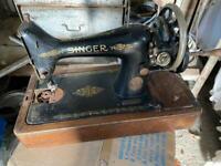 Singer vintage antique sewing machine