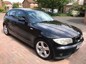 BMW 116i SE 2005, Black, Manual, Petrol, 5 Door, 83K