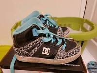 Girls dc trainers size 1