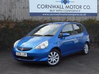 HONDA JAZZ 1.3 DSI SE 5d AUTO 82 BHP 7 SPEED AUTO (blue) 2005