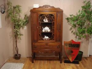 Antique Gibbard China Hutch #164