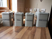 4 Kitchen Craft Cannisters