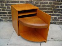 FREE DELIVERY Retro Telephone Seat Wooden Box Vintage Furniture W