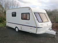 Fleetwood Colchester 2 berth touring caravan in great condition with end shower room 2002 Reduced