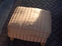 foot stool needs recovering hence cheap price