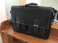 Briefcase Leather satchel style