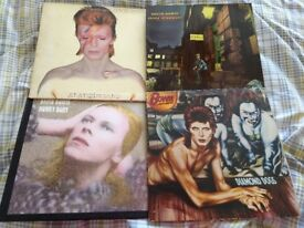 DAVID BOWIE - 20 X VINYL L.P - INDIVIDUALLY PRICED - UK/GERMAN/ITALIAN/CANADIAN PRESSINGS