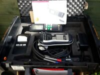 Testo 325M Combustion Analyser Kit with added Regin X75 Gas Detector