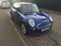 SWAP - Mini Cooper S JCW 2004, Leather seats, Dual Sunroof, Stainless Steel Exhaust, Supercharger