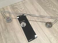 Towel rail and hook
