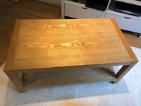 John Lewis Solid wood coffee table