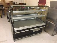 Mafirol Ravel 1210 Display Chiller with chiller cupboard under 1.3m wide