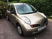 Nissan Micra 1.2 16v S 3dr 2005 Automatic