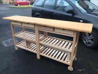 Ikea counter island bench