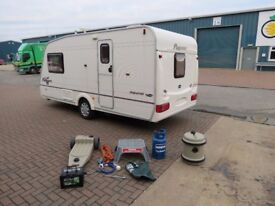 Bailey Pageant Imperial 2003 year,2 berth,cris reg,hpi clear,dry,very clean tested with accessories