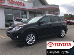 2015 Toyota RAV4 LIMITED--HEATED LEATHER--MOON ROOF--PWR LIFT GA