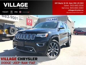 2017 Jeep Grand Cherokee Overland|Safety/Tech|Panoroof|TOW|Vent