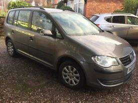 VW Touran 1.6 Petrol 2007