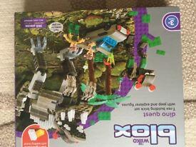 Lego style blox dinasour set