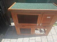 Guinea Pig Hutch - Compact 3 ft wide