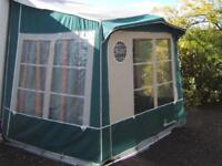 Isabella Minor Porch Awning , Approximately 6ft x6ft , with lightweight poles and ground sheet ,