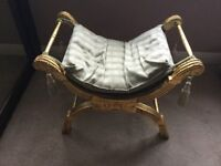 Antique French Style Seat/Stool