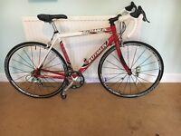 Mens original Classic Italian Battaglin bike with tear drop frame