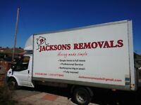Jacksons Removals, Moving Made Simple! Fully Insured!!