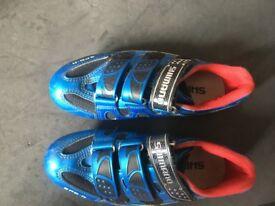 Shimano clip in road bike shoe size 39
