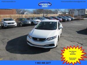2015 Honda Civic LX $113 B/W oac