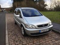 Vauxhall zafira 2.0dti 7 seater diesel