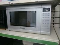 Panasonic NN-ST462MBPQ 32L 900W Microwave with Inverter Technology in Silver SBAR1107409050420
