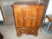 Mahogany Tv Display Cabinet Delivery Available aw041