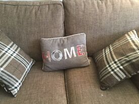 3 x cushions as new condition