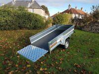 New Trailer 8.7 x 4.2 single axle with ramp £950 INC VAT