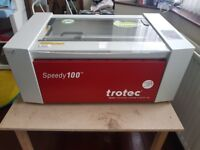 Trotec Speedy 100 laser engraver cutter in perfect condition RRP £20 000!!!